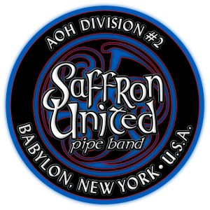 Saffron united custom drum graphics
