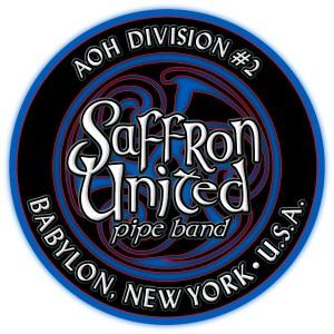 Saffron united custom drum graphics