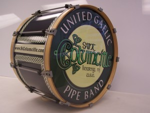 Custom Bass Drum Head Graphics